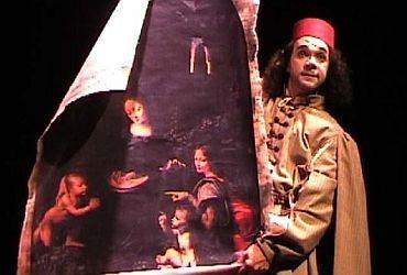 O ator Ricardo Nortier em cena