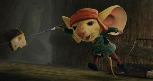 O Corajoso Ratinho Desperaux - Divulgação