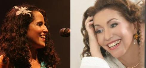 Fernanda Porto e Vania Bastos