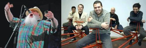 Hermeto Pascoal e Hamilton de Holanda Quinteto - Divulgação