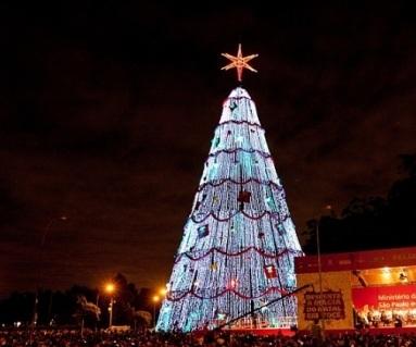 Árvore de Natal do Ibirapuera - Divulgação
