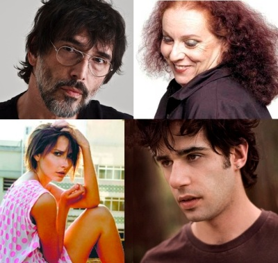 Lobão, Cida Moreira, Michelli Provensi  e Thiago Pethit  - Divulgação