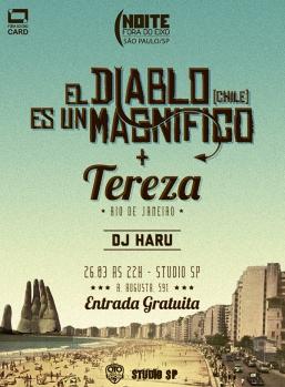 El Diablo Es Un Magnifico + Tereza - Divulgação